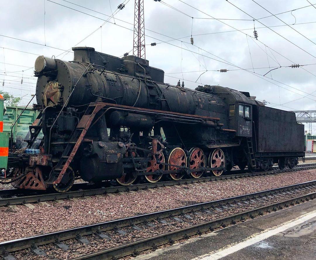 Л-3228 на станции Иланская