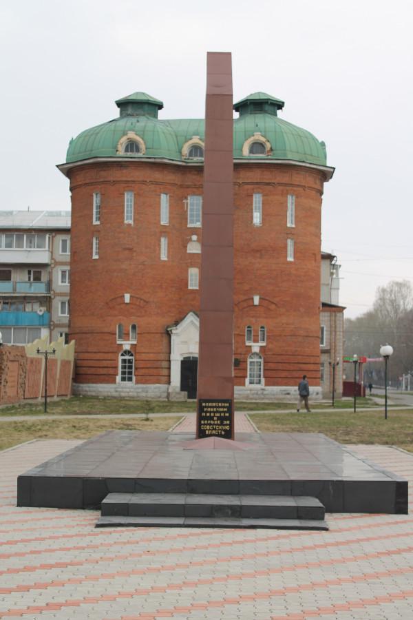 Историко - мемориальный комплекс на привокзальной площади