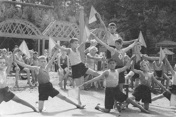 Лагерь им. Ильича, 1957 г.