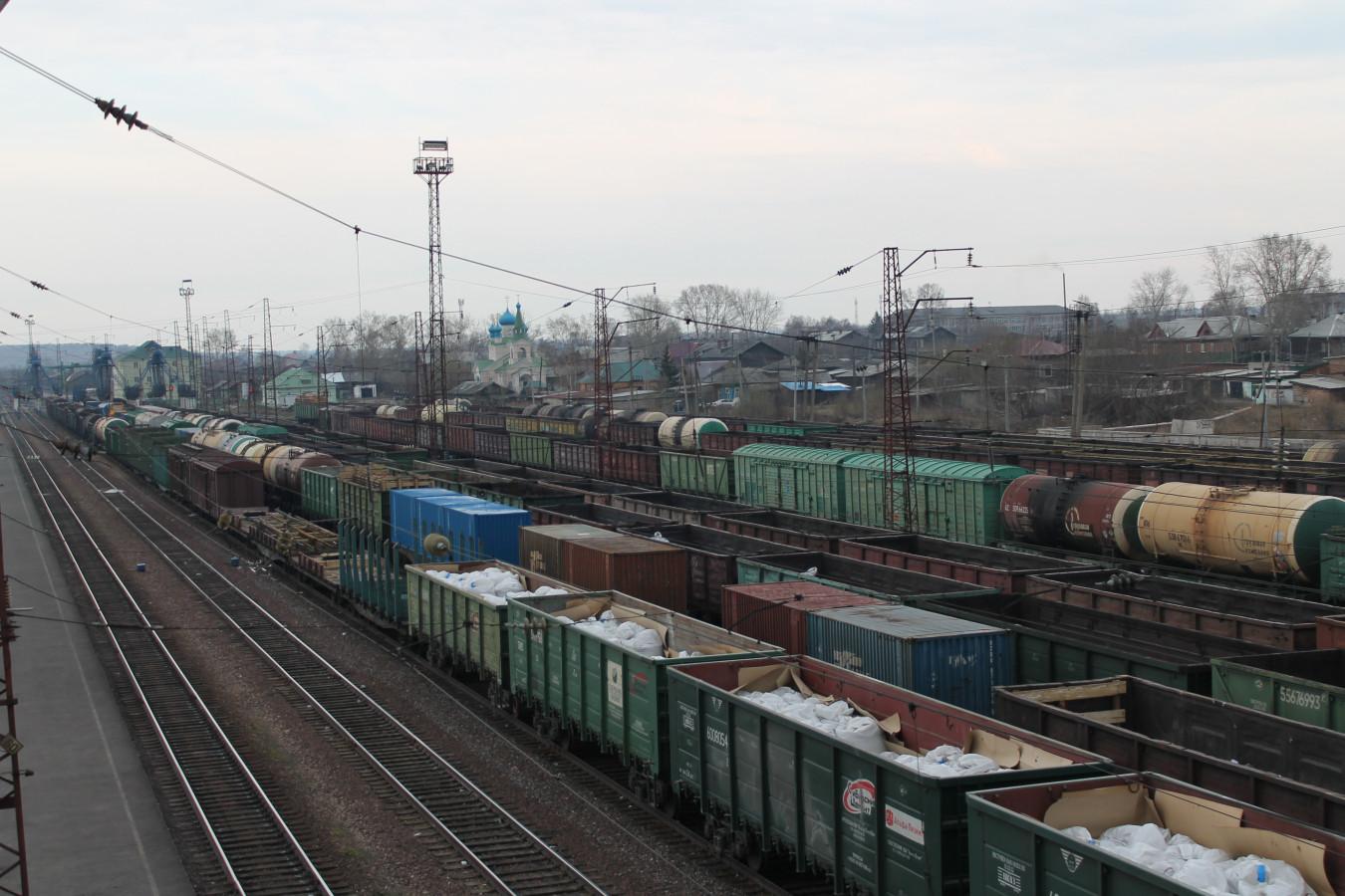 ЖД станция Иланская