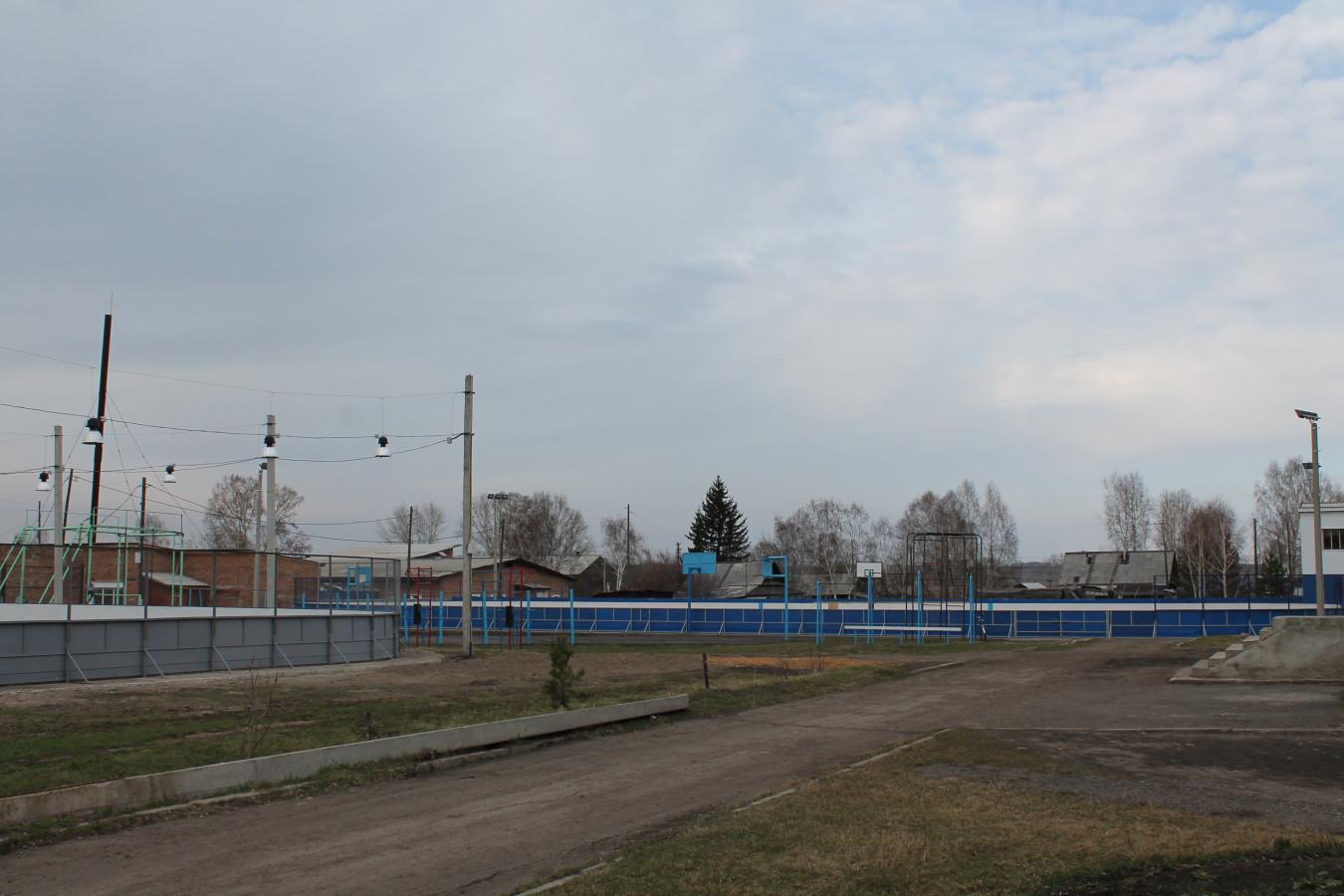 Спортивные объекты школы № 1