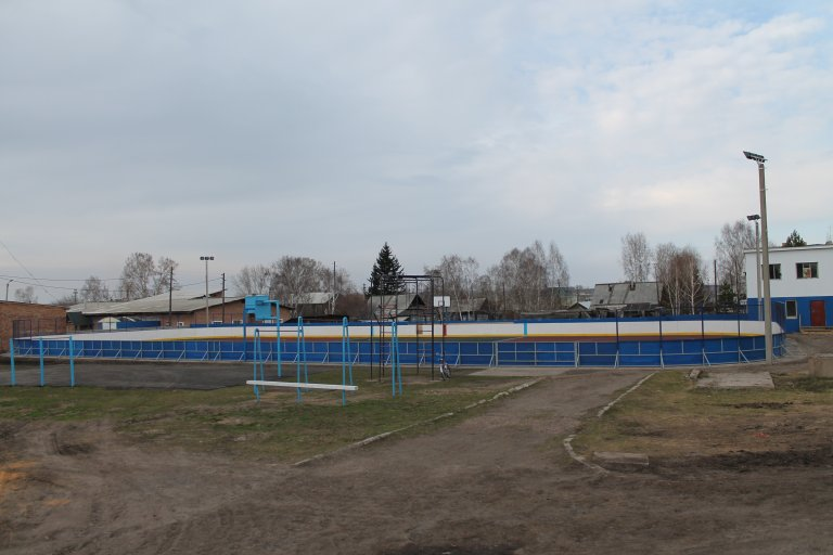 Стадион на территории школы № 1