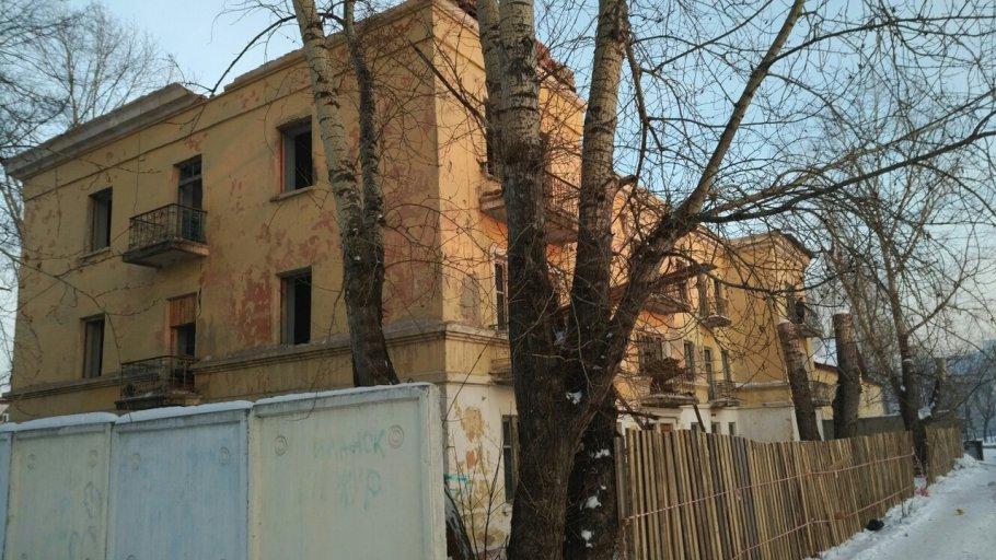 Госпиталь ВОВ, 1940 г. постройки, в последующем - Поликлиника. г. Иланский, Красноярский край
