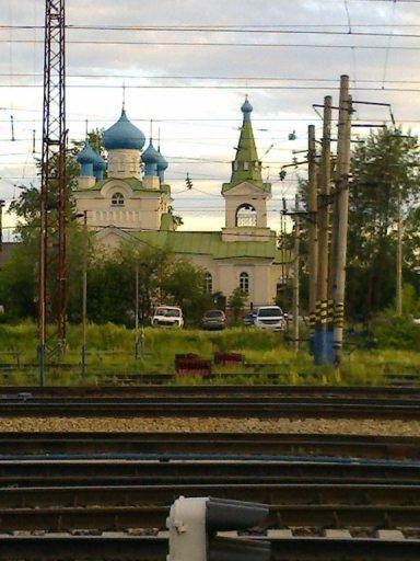 Храм у ЖД