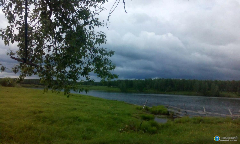 Озеро Восточное. Город Иланск