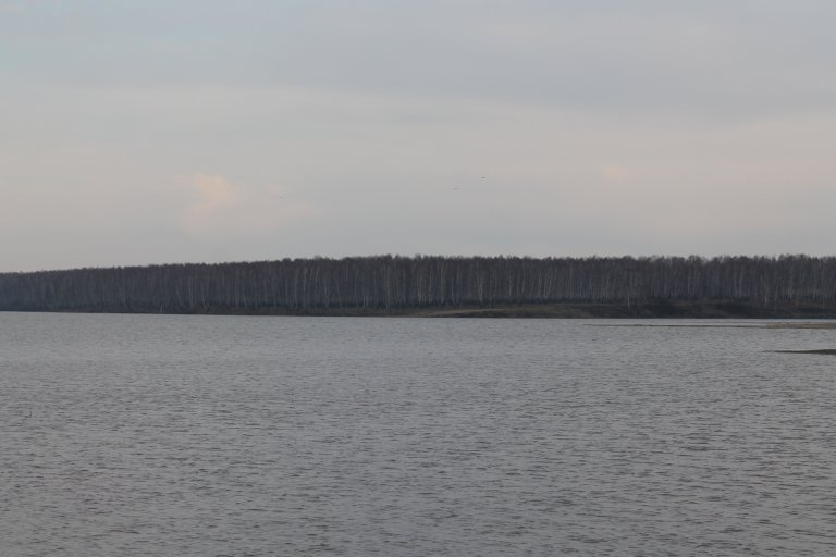 Вид на Мыс, озеро Пульсометр