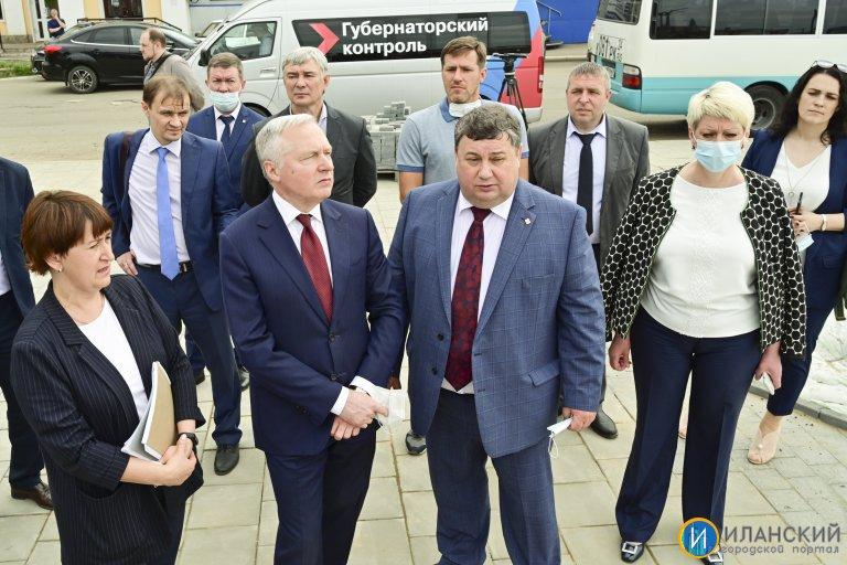 «Губернаторский контроль»: Юрий Лапшин проконтролировал реализацию нацпроектов на востоке края