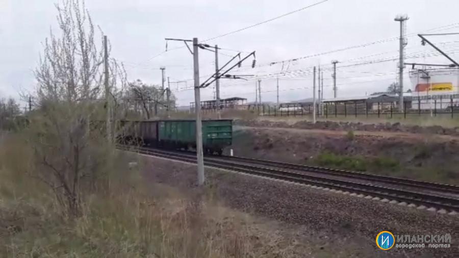 """Иланский со сборным. Электровоз 2ЭС5К-297 """"Ермак"""" со сборным поездом и супер приветливой бригадой"""