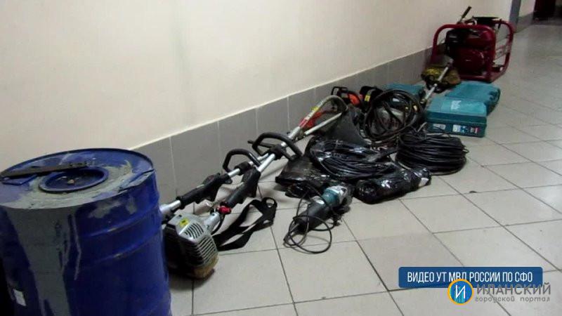 В Красноярской крае, сотрудники транспортной полиции задержали подозреваемого в хищении имущества