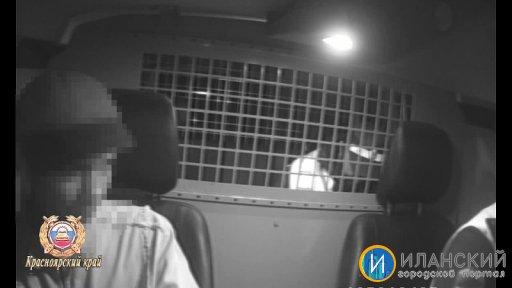 Нетрезвому водителю мопеда в Иланском районе, который пытался скрыться от инспекторов ДПС, помешали