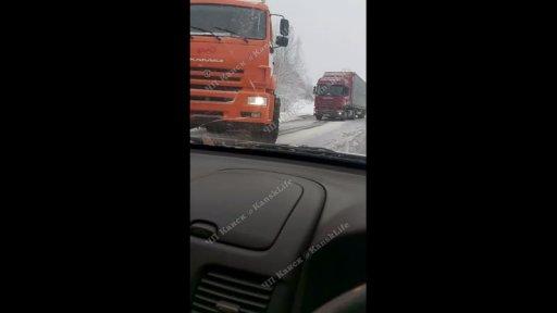 Авария на трассе Канск-Иланский 25 декабря 2020 года
