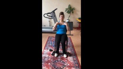 Упражнение по профилактике пневмонии в домашних условиях