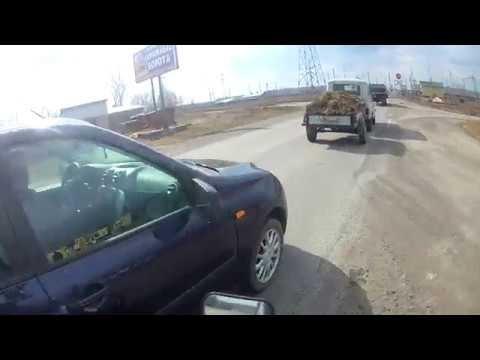 Обзор города Иланского на Honda CBR 600 RR! Снимал для друга!)