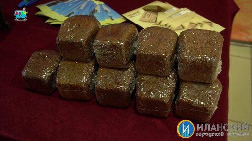 Блокадный хлеб - Всероссийская акция прошла в Иланском